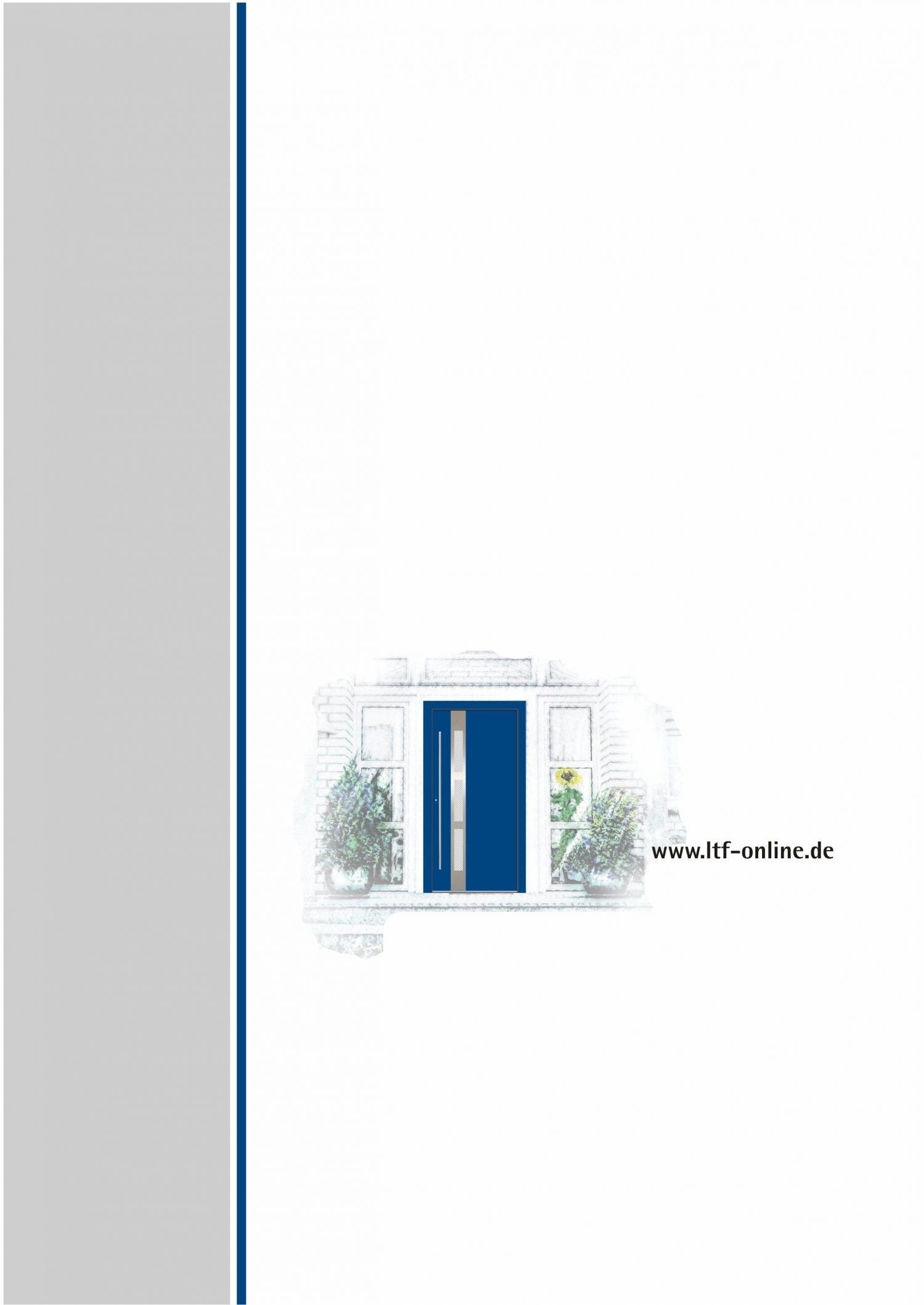 Haustürfüllungen LTF Katalog
